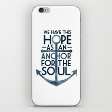 WE HAVE THIS HOPE. iPhone & iPod Skin