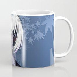 dark elf in a purple kimono for dnd and anime fans Coffee Mug