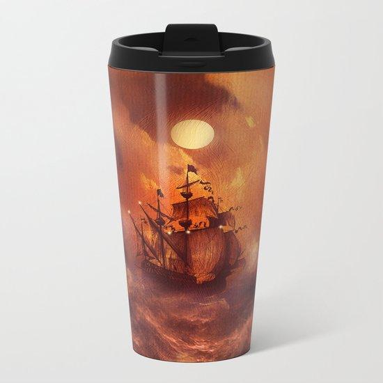Perfect storm. Metal Travel Mug
