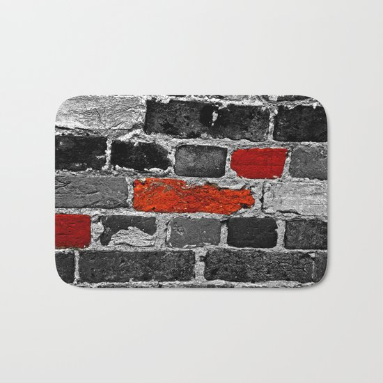 OTHER BRICKS IN THE WALL Bath Mat