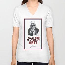 I Want You Tshirt v2 Unisex V-Neck