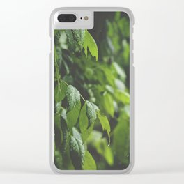 Sun Shower Clear iPhone Case