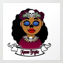 Purple Maman Brigitte Art Print