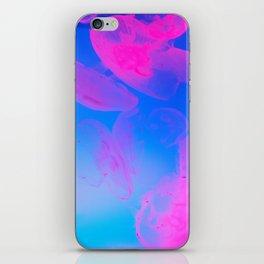 Pink Moon Glow iPhone Skin