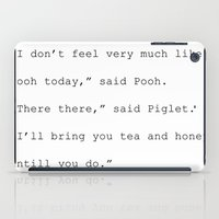 winnie the pooh iPad Cases featuring Winnie The Pooh by Noura Aljarbou
