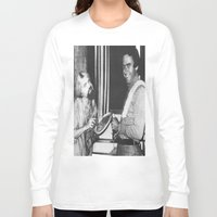 chad wys Long Sleeve T-shirts featuring Ted Bundy, Chad the Chicken by Chad M. White