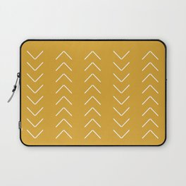V / Yellow Laptop Sleeve