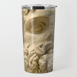 Ancient Roman Statue of the God Asclepius Travel Mug
