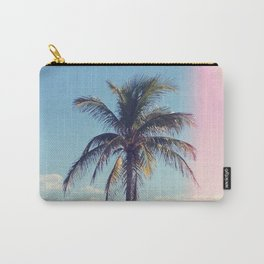 Palm Tree Light Leak Color Nature Photography Carry-All Pouch