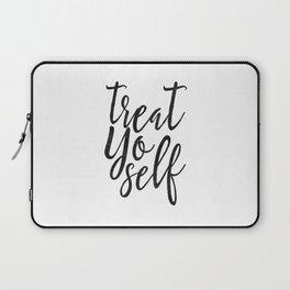 Treat Yo Self, Quote prints,Love Yourself, Kitchen Decor,Printable Wall Art,Quote Printable Laptop Sleeve
