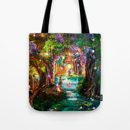 The Butterfly Ball Tote Bag