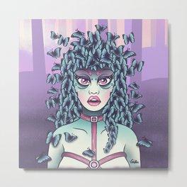 Itzpapalotl - Lady Butterfly Metal Print