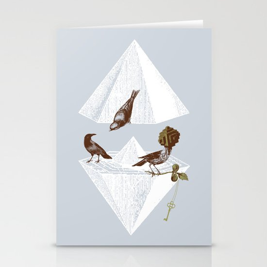 Guardian of Secrets Stationery Cards