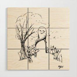 A Windy Day Wood Wall Art