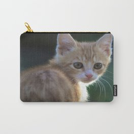 Gatto Rosso - Red Cat Carry-All Pouch