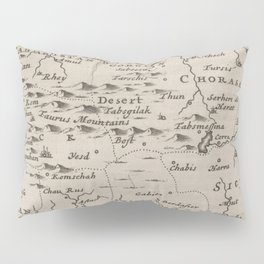 Map of Persia, 1701 Pillow Sham