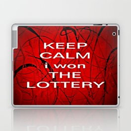 Keep Calm I Won The Lottery - phone cases for 6 - phone cases for 6s plus Laptop & iPad Skin