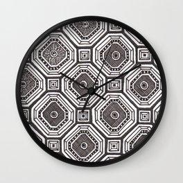 Textile 8 Wall Clock