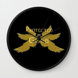 Protected by Gabriel Wall Clock