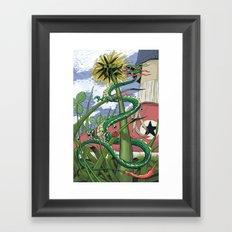 Dragons Unseen  Framed Art Print