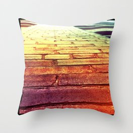 Bricks Throw Pillow