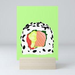 Sesame Seed Sushi Roll Mini Art Print