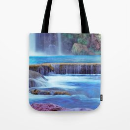 The Pools of Havasupai Falls - Revisited Tote Bag