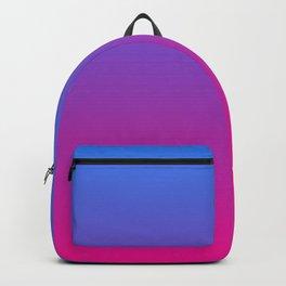 Vibrant Blue, Purple & Pink Gradient Color Backpack