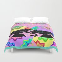 easter Duvet Covers featuring Easter by BLOOP