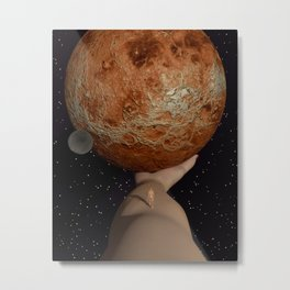 Do The Footsteps Tickle? Metal Print