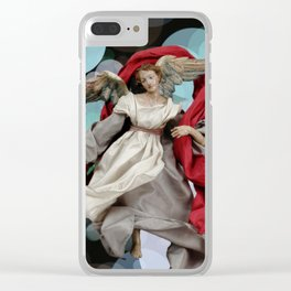Angel 8. Clear iPhone Case