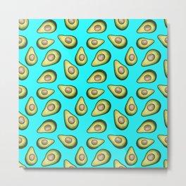 Avocado Fun Metal Print