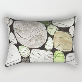 Classical Stones Pattern in High Format Rectangular Pillow