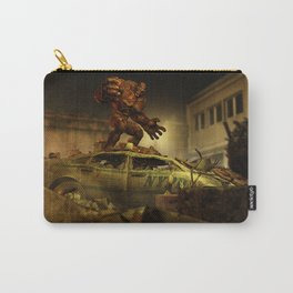 The Infernal Behemoth - Hell in The City - Fantasy  Artwork Carry-All Pouch