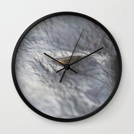 The Sculptor Wall Clock