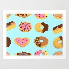 Donut Shoppe Art Print