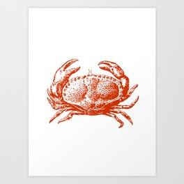 Home Decor Ideas-006,Red Crab Art Print