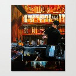 The Bartender Canvas Print