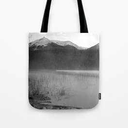 Cabin Lake Tote Bag