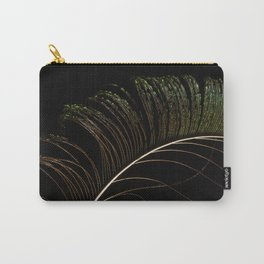 Peacock feather. Carry-All Pouch