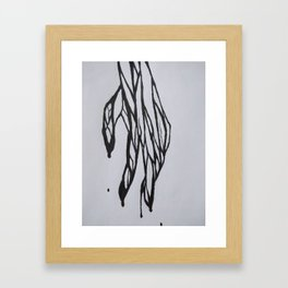 The Pain of a Friend Framed Art Print