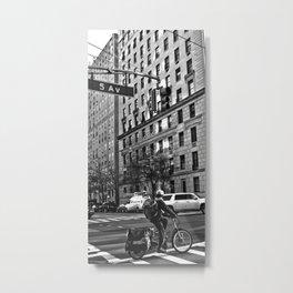 5 AV New York Metal Print