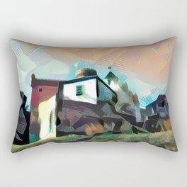 Spanish Castle Rectangular Pillow