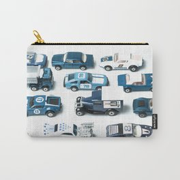 Its A Parking Lot Out There... Blue Carry-All Pouch