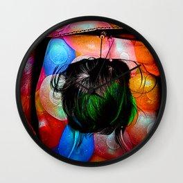 Balloon Girl Wall Clock