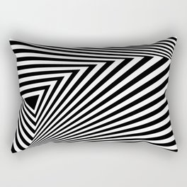abstract striped background Rectangular Pillow