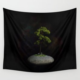 The Second Sanctuary in Space Wall Tapestry