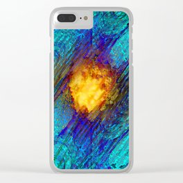 Birth of a Star Clear iPhone Case