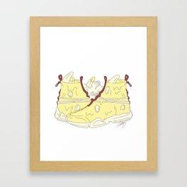 Banana split JG 002 Framed Art Print