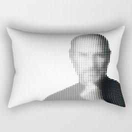 Jobs Abstract Portrait Rectangular Pillow